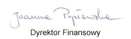 Joanna_Popławska - Dyrektor Finansowy